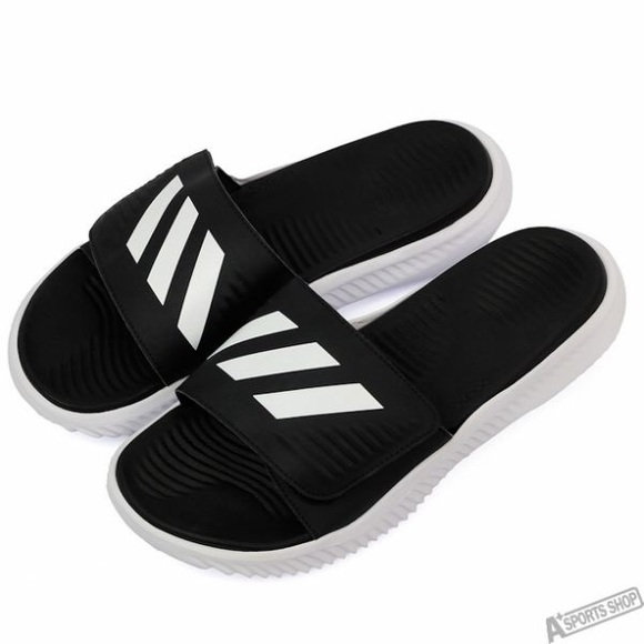 23f8aba85869 adidas Other - Adidas Mens Alphabounce Black Sandals Size 11